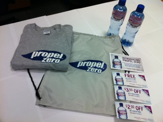 Propel prize pack